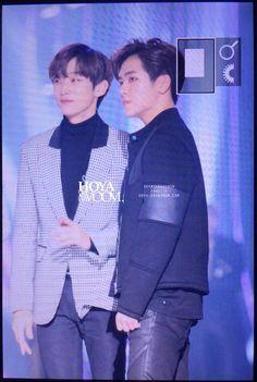 Gongchan and Hoya