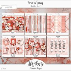 Ilonka's Scrapbook Designs: Forever Young & Freebie