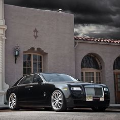 Rolls Royce Ghost on this Mystical Evening Rehv's car, that he charges out each year for a new model.
