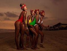 Share a laugh  Photographer: @chasquido_studios  MUA: @thereal_asareprince  Models: @iamnaadiah @sweetiestef @iamabenagreen @_akuamingle Swimsuits: @mimmy.yeboah  #mimmyyeboah #happyholidays #madeinghana #summer2017 #swimwear #baywatch #ghana #labadibeach #accra #westafrica #ghanagirls #womensweardaily #fashionbombdaily #womenswear #essence #blackgirlmagic #darkskingirls #truebeauty #swiminfashion
