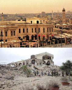 Guerra da Síria: O antes e depois de Aleppo, a maior cidade do país