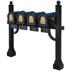 Building A Multiple Mailbox Post