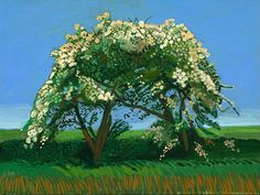 David Hockney  It's almost the time of year for this glorious show.