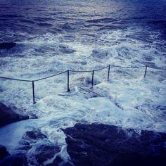 North berwick. Steps into the sea