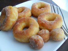Doughnuts using Grand biscuits!