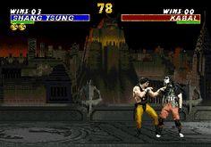 Shang Tsung soul taker fatality