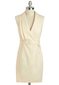 """Jetsetter Journalist Dress, #ModCloth Love this dress, though I can assure you as a journalist I would not be wearing this when """"jet setting,"""" lol."""