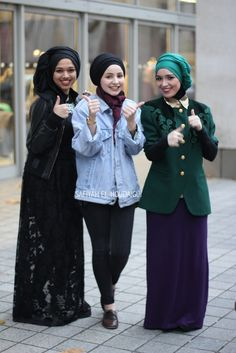 The Beauty of Hijabs...i wish i could wrap my hijab like theirs..