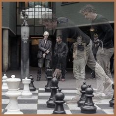 Chess problem? #amsterdam #chess #movement #checkmate #streetlife #games #chessboard #multipleexposures #city  #holland #netherlands Holland Netherlands, Chess, Amsterdam, Games, Street, City, Photos, Instagram, Gingham