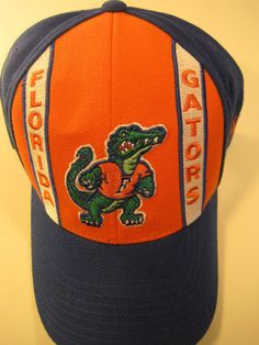 21822598d67 Florida Gators Baseball Cap Embroidered Logo One size Fits Brushed Wool  Blend  FloridaGator  BaseballCap