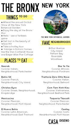 A Taste of Travel: New York City  Bronx #travel #nyc #bronx