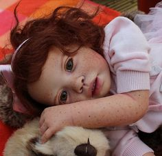 Custom Order for Reborn Toddler Baby Girl Doll Eva by Jannie de Lange Red Hair | eBay