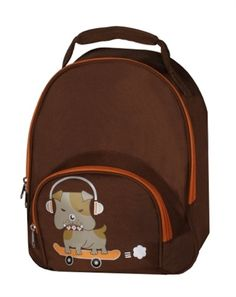My Sweet Dreams Baby - Brown Tank Personalized Toddler Backpack (http://www.mysweetdreamsbaby.com/travelbackpacks.htm)