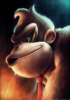 Donkey Kong by *JoshSummana on deviantART