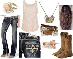 """Classy Cowgirl"" - Its got the same pants, belt and boots as the other one I posted :D lol"