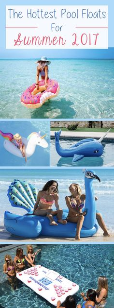 The hottest adult pool floats for spring & summer 2017. These fun floats are pool and beach essentials this season.