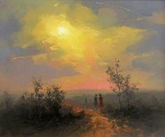 Landscape Paintings, Landscapes, 21st, Polish, Canvas, Paisajes, Block Prints, Paintings, Artist