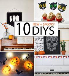 10 New + Spooky Halloween DIYs