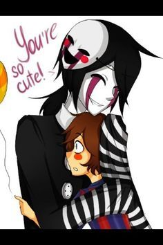 Puppet and balloon boy anime cute! Five Nights at Freddy's 2