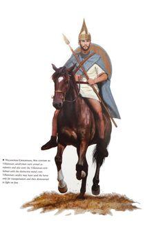 Ранняя Италия. Воины культуры Виллановы, VIII век
