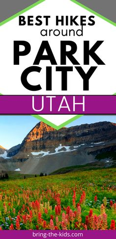 If you're planning a summer trip to Park City, you won't want to miss these amazing hikes.  We've included the best hikes in Park City and all over the Wasatch Back, so you'll never be lacking for hike ideas.  Utah has so many amazing hikes, especially around Park City and the Uintah mountains that you won't want to miss out on. Park City Utah Summer, Colorado City, Colorado Hiking, Utah Vacation, Dream Vacations, Vacation Ideas, Utah Camping, Utah Hikes, Best Hikes