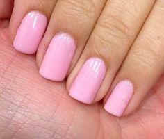 Pretty in Pink Chiffon #prettyinpink #sensationail #gelnails