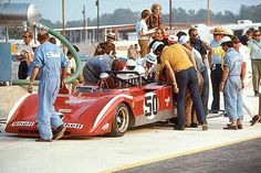 Mario Andretti - Ferrari 712M - Spa Ferrari SEFAC - Six-Hours and The Can-Am, The Glen- Can-Am Watkins Glen - 1971 Canadian-American Challenge Cup, round 4