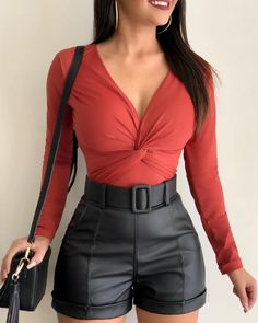 Swans Style is the top online fashion store for women. Shop sexy club dresses, jeans, shoes, bodysuits, skirts and more. Teen Fashion Outfits, Look Fashion, Sexy Outfits, Pretty Outfits, Beautiful Outfits, Girl Fashion, Cool Outfits, Summer Outfits, Casual Outfits