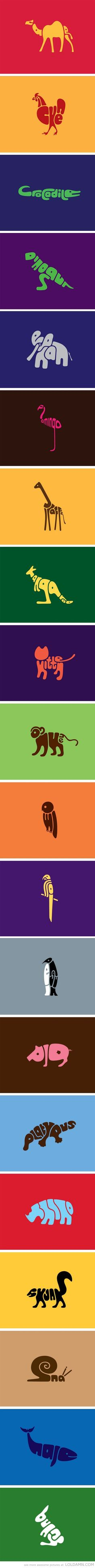 Word Animals- Design