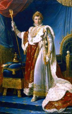 Ingres, Auguste-Dominique (1780-1867) - 1806 Portrait of Napoleon on the Imperial Throne (Musée de l'Armée, Paris)