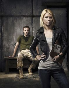 Claire Danes and Damian Lewis
