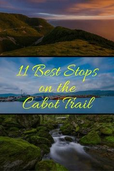 The Cabot Trail Nova Scotia is one of Canada's Ultimate Scenic Highways. These are the best things to do along the route with where to stay and what to see Cabot Trail, East Coast Travel, East Coast Road Trip, Ottawa, Cap Breton, East Coast Canada, Nova Scotia Travel, Voyage Canada, Visit Canada