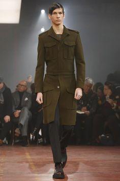 Alexander McQueen Menswear Fall Winter 2015 London - NOWFASHION