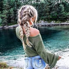 Top 60 All the Rage Looks with Long Box Braids - Hairstyles Trends Box Braids Hairstyles, Pretty Hairstyles, Hairstyle Ideas, Teenage Hairstyles, Hairstyles 2018, Country Hairstyles, Cornrows Hair, Asian Hairstyles, Beautiful Haircuts