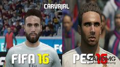 FIFA 16 vs PES 2016 Real Madrid Players Faces Comparison - http://homedesign123.top/fifa-16-vs-pes-2016-real-madrid-players-faces-comparison/
