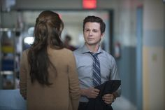 "THE NIGHT SHIFT -- ""Grace Under Fire"" -- (Photo by: Lewis Jacobs/NBC) pictured Freddy Rodriguez as Michael Ragosa and Daniella Alonso as Landry de la Cruz"