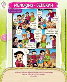 Kids Story Books, Stories For Kids, Islam For Kids, Muslim, Activities For Kids, Parenting, Doa, Education, Comics