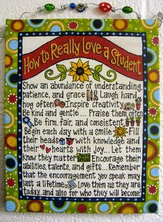 Would love for someone to make this for me!! http://www.raspberryrow.com/products/new-how-to-really-love-a-student-beaded-canvas-by-glory-haus