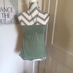 AF sage crop top A and F tank Army green Size small Gently used Please ask for additional pictures, measurements, or ask questions before purchase No trades or other apps. Ships next business day, unless otherwise noted in my closet Reasonable offers accepted  Five star rating Bundle for discount Abercrombie & Fitch Tops