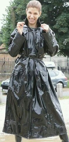 from pvc and raincoat fetish