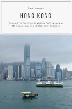 Læs om Hong Kong. Tag med The Peak Tram til Victoria Harbour, med The Central-Mid Level Escalator, besøg Man Mo-Templet, markederne omkring Graham Street og sejl med Star Ferry til Kowloon.