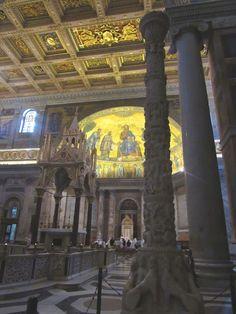 Mis 365 vestidos: San Pablo y una pirámide en Roma