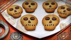 Cookie de caveira: sabor e visual incríveis