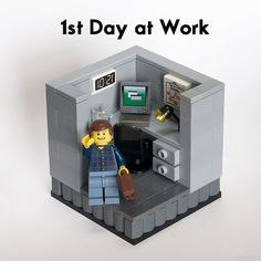 Back to work Lego