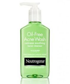 Neutrogena Acne Wash Redness Soothing Gel Cleanser