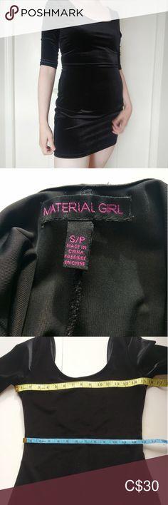 Spotted while shopping on Poshmark: Material girl Black Velvet bodycon dress! Velvet Bodycon Dress, Plus Fashion, Fashion Tips, Fashion Trends, Material Girls, Black Velvet, Girls Dresses, Zipper, Christmas Material