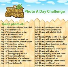 Animal Crossing New Leaf Photo a Day Challenge ... | I Heart Nintendo - News. Reviews. Love.
