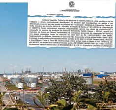 CASO DE POLÍCIA A Refinaria Presidente Getúlio Vargas, no Paraná. O custo de reforma provocou a abertura de um inquérito policial