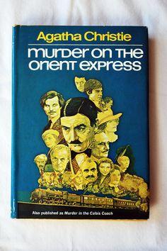 Agatha Christie Murder on the Orient Express by LostLeaflets, $5.00