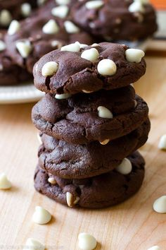 An easy recipe for inside out chocolate chip cookies.